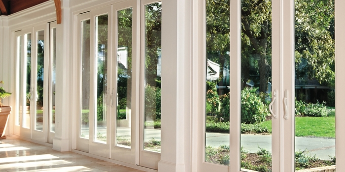 Sliding French Doors Exterior 700 x 350